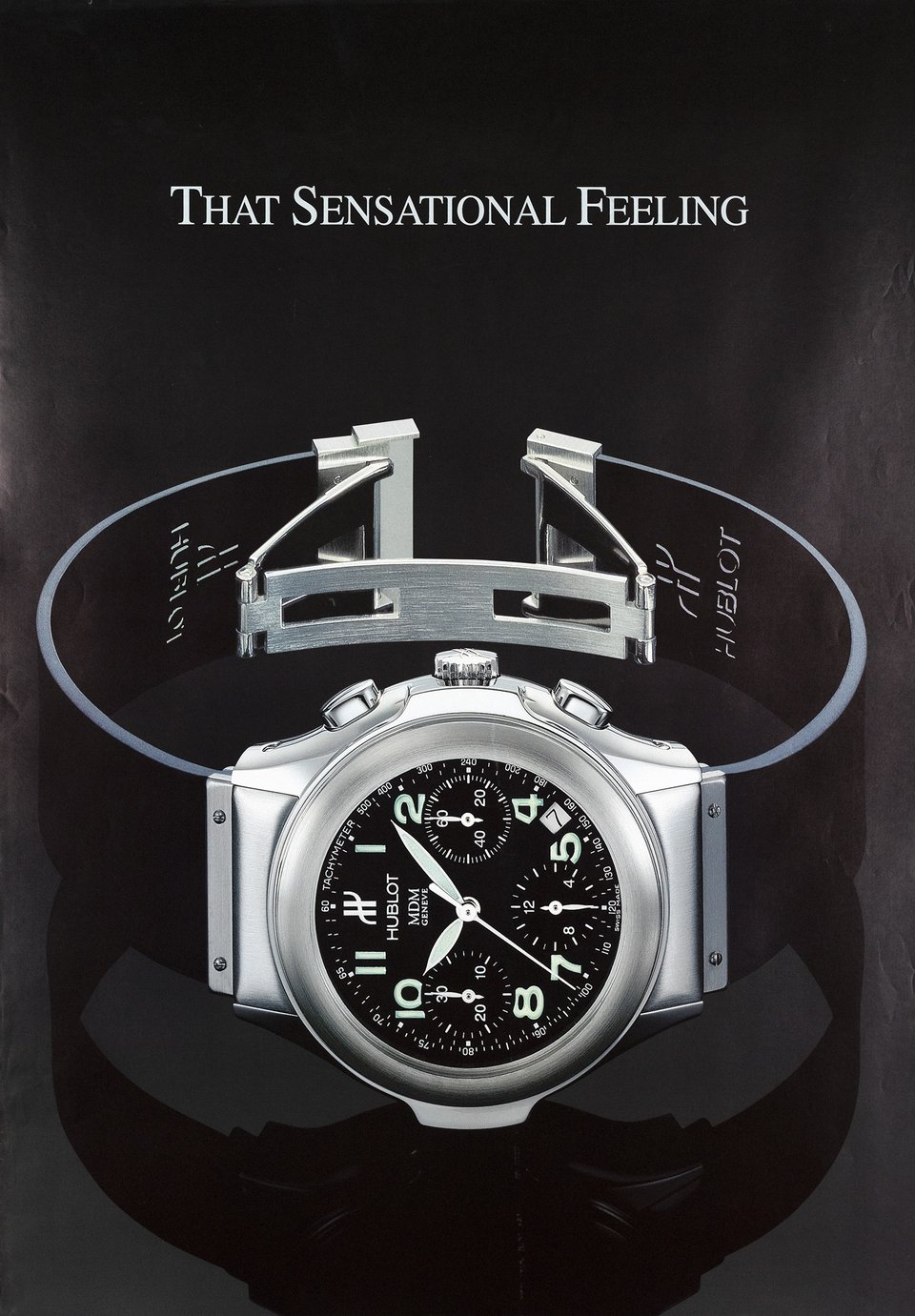 Hublot – Affiche ancienne – ANONYME – 2000
