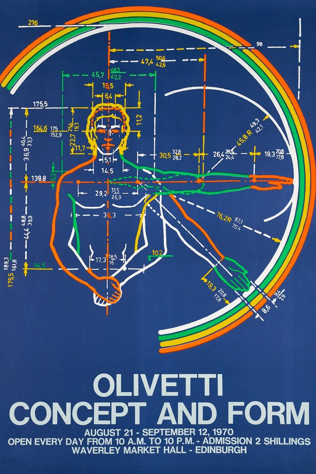 Olivetti, Concept and Form