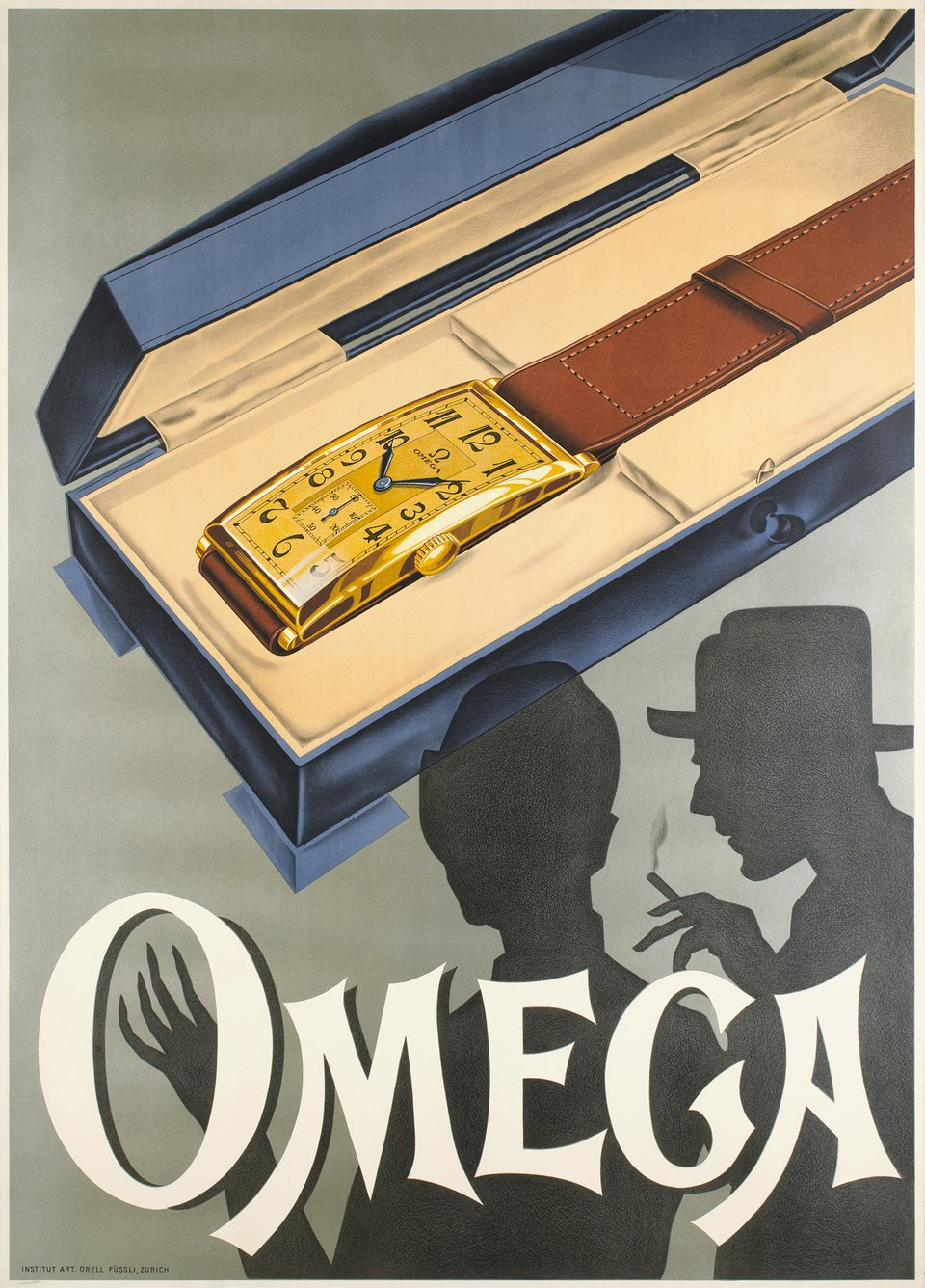 Omega – Affiche ancienne –  ANONYME – 1930