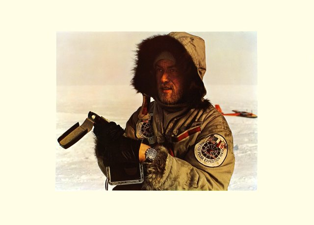 Polar Expedition 1967, sponsored by Omega Speedmaster