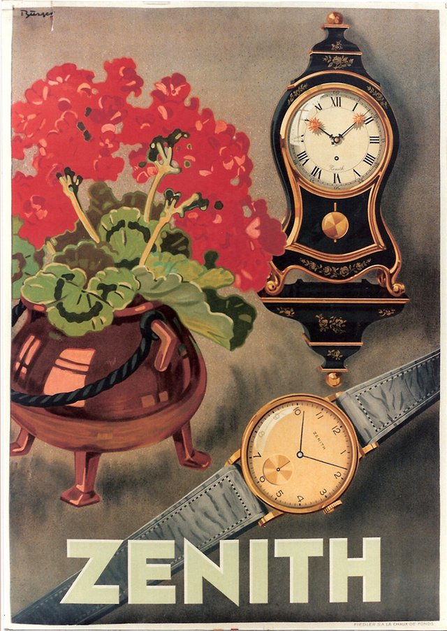 Zenith, Watches & clocks