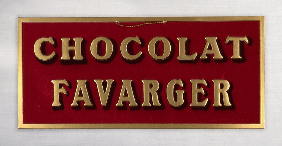 Chocolat Favarger – Affiche ancienne – ANONYME – 1920
