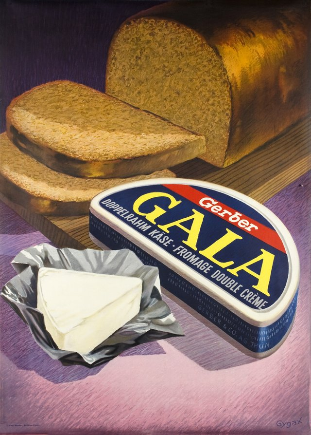 Gala Gerber, fromage double-crème
