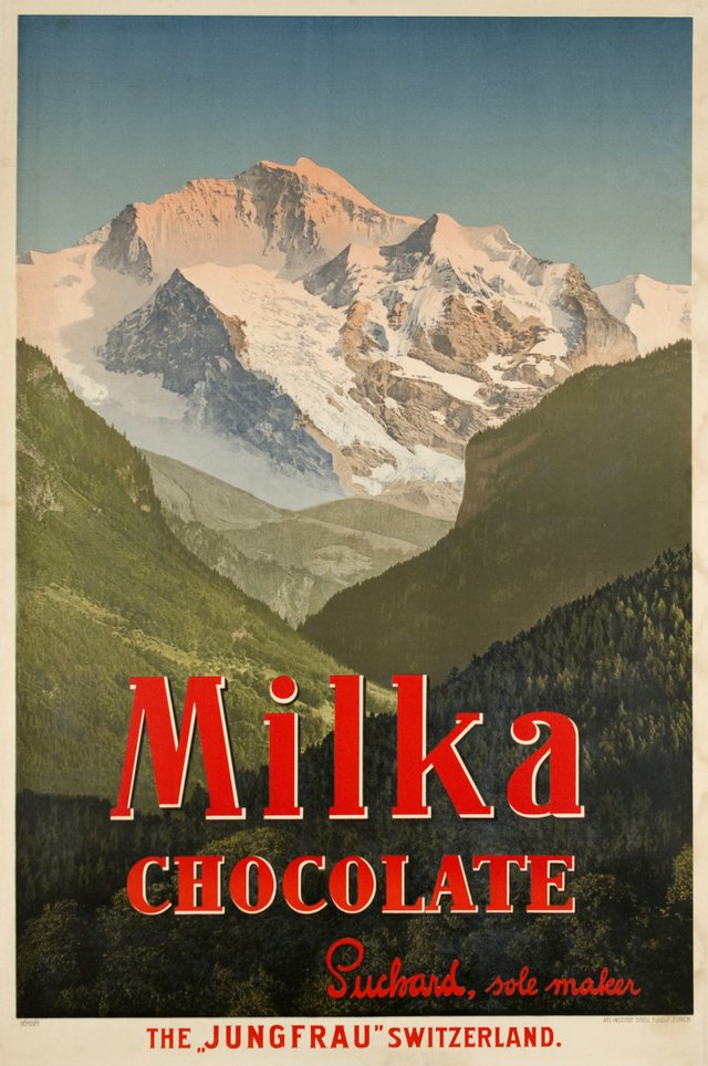 Milka Chocolate, the Jungfrau, Switzerland