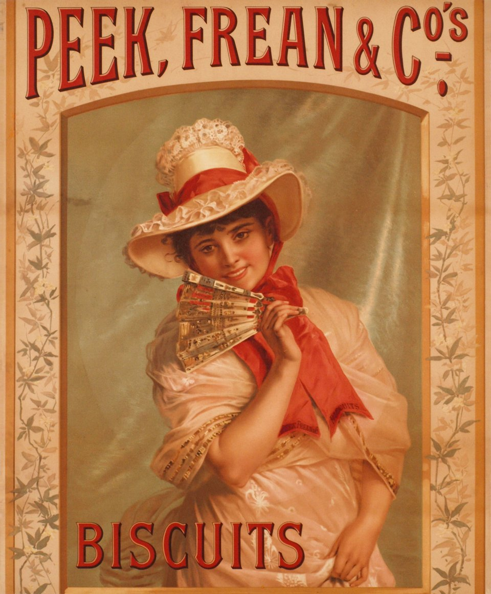Peek, Frean & Co., biscuits – Vintage poster –  ANONYME – 1900