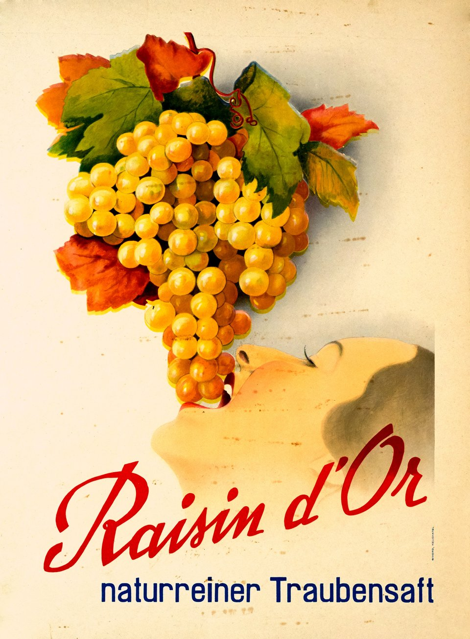 Raisin d'Or – Vintage poster – ANONYME – 1930