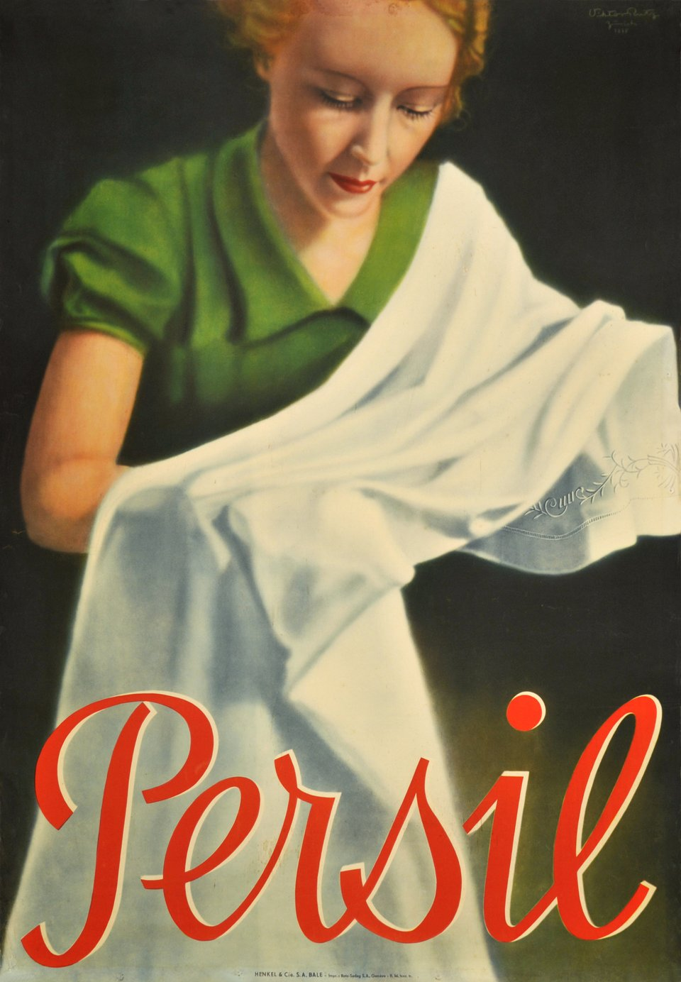 Persil – Affiche ancienne – Victor RUTZ – 1935