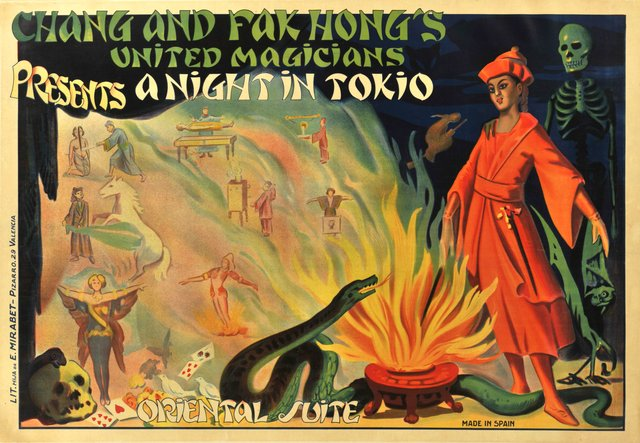 Chang and Fak Hong's United Magicians, A night in Tokio