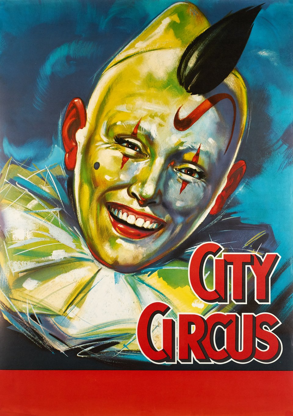 City Circus – Vintage poster – ANONYMOUS – 1965