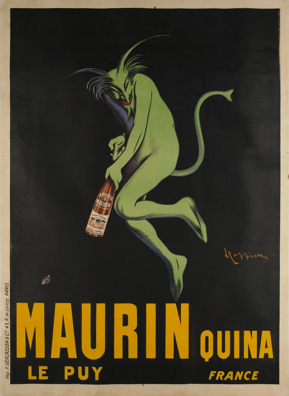 Vintage poster – Maurin Quina, Le Puy – Galerie 1 2 3