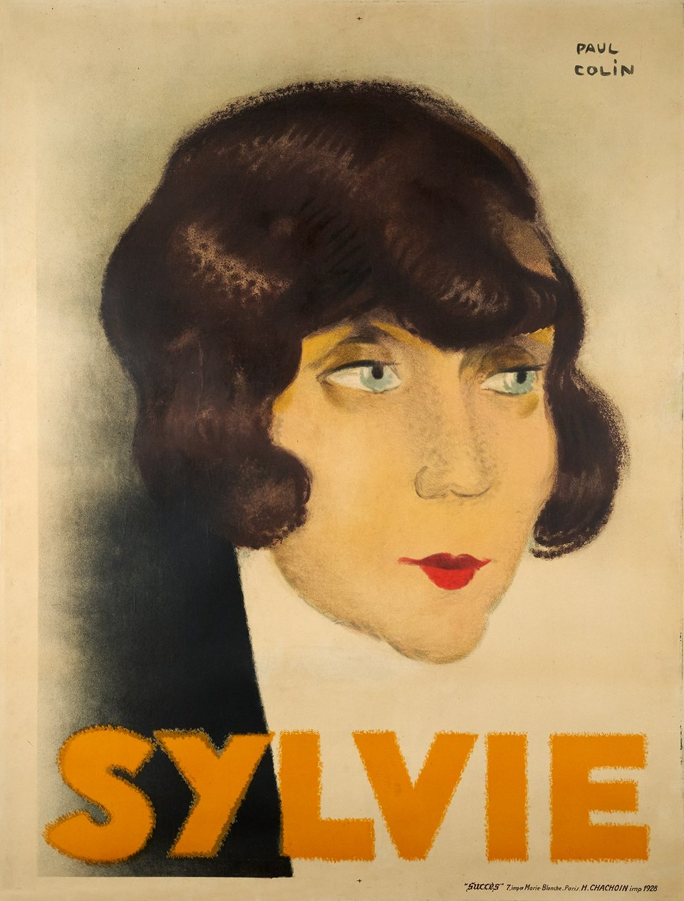 Sylvie – Vintage poster – Paul COLIN – 1928