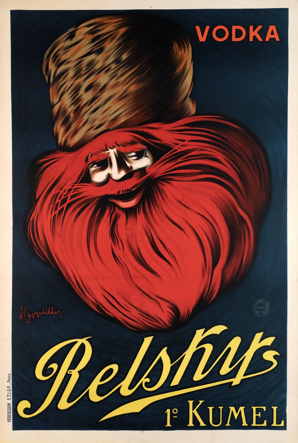 Vodka Relsky – Affiche ancienne – Leonetto CAPPIELLO – 1925