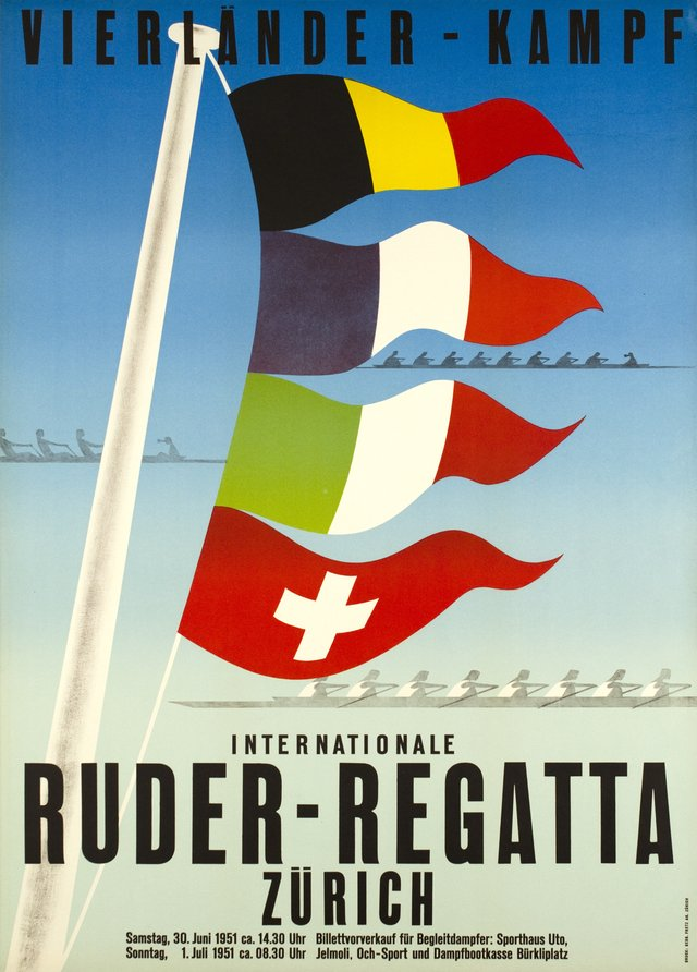Internationale Ruder-Regatta, Zürich 1951