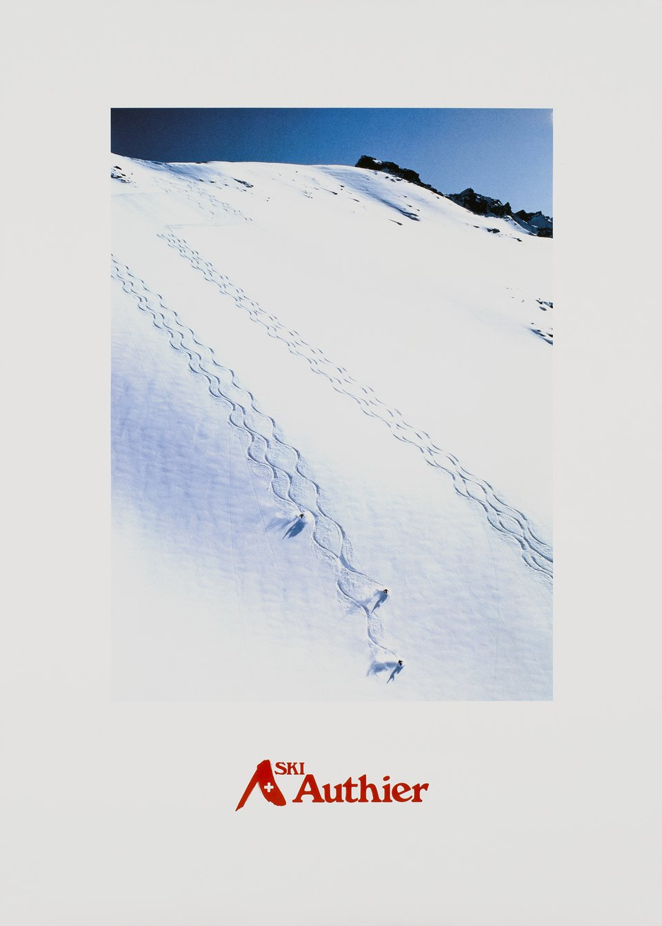 Ski Authier – Vintage poster – ANONYMOUS – 1990