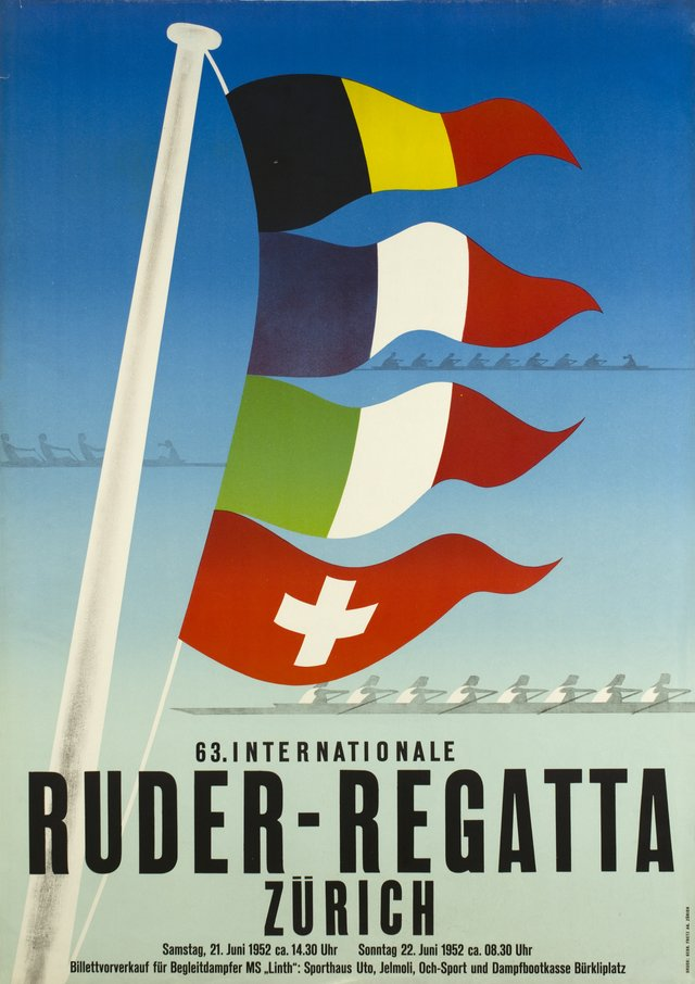 Zürich, 63. Internationale Ruder-Regatta