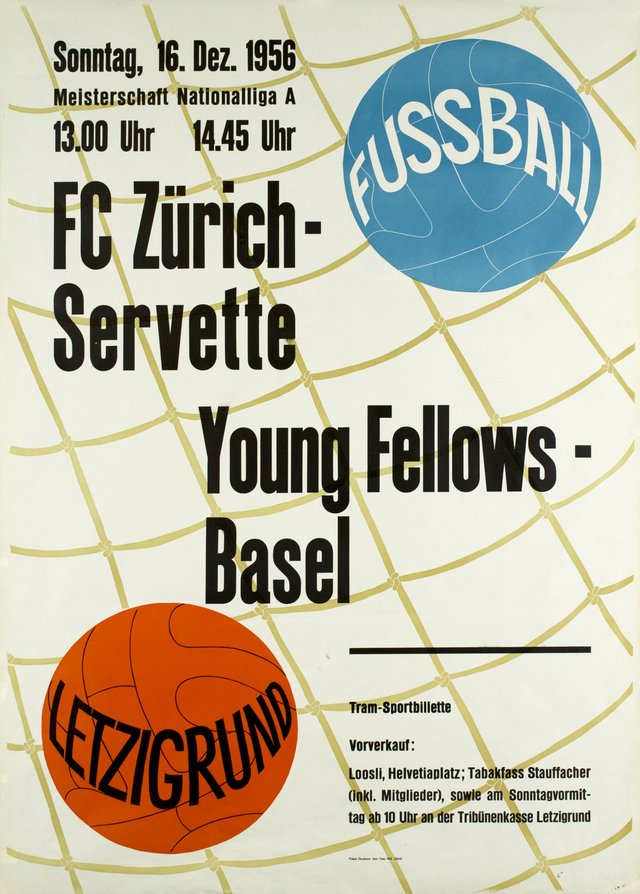 Zürich Letzigrund, FC Zürich-Servette, Young Fellows-Basel