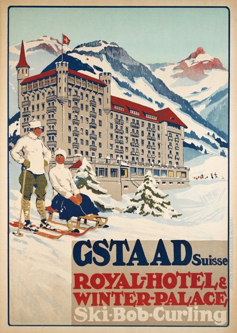 Gstaad Suisse - Royal Hôtel & Winter Palace - Ski-Bob-Curling