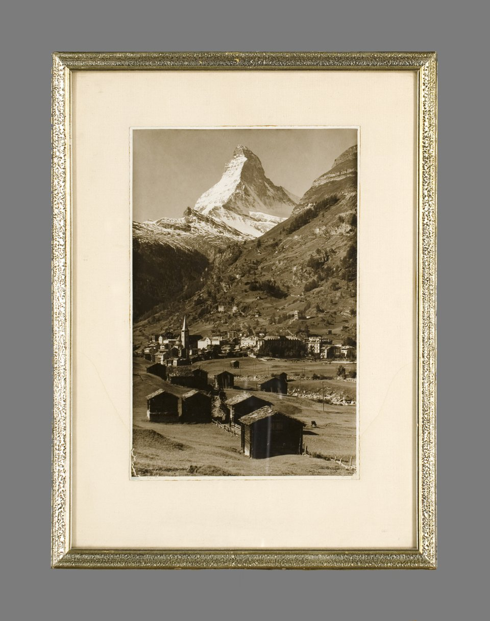 Photograph of Zermatt – Affiche ancienne – Emanuel GYGER – 1910