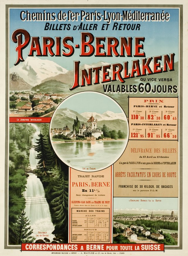 PLM Paris-Berne-Interlaken