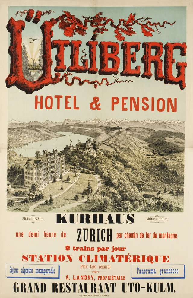 Utliberg, Hôtel & Pension