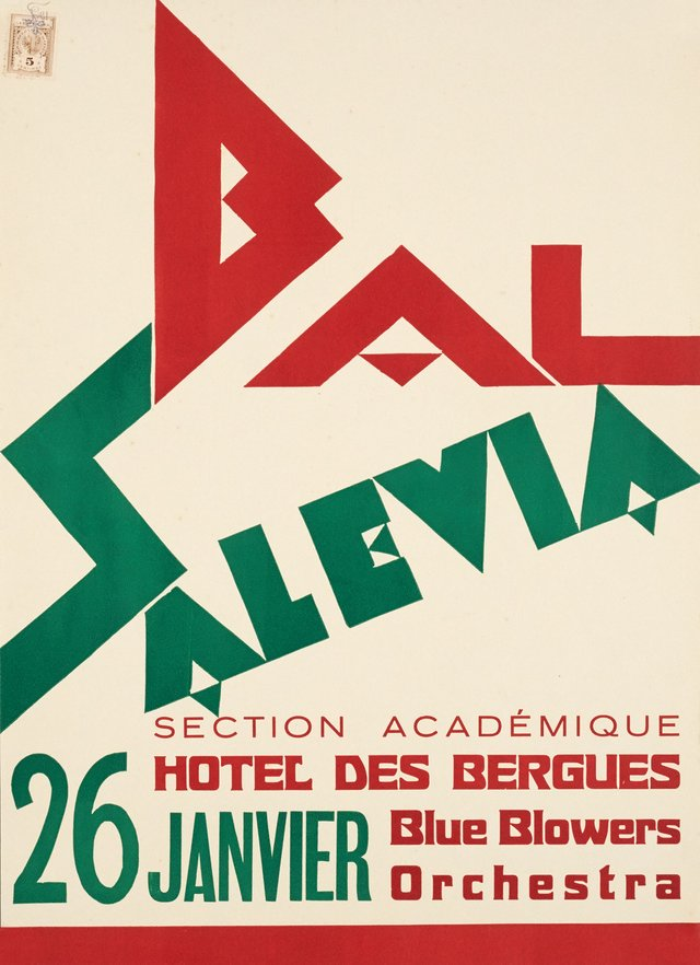 Bal Salevia, Section Académique, Hotel des Bergues