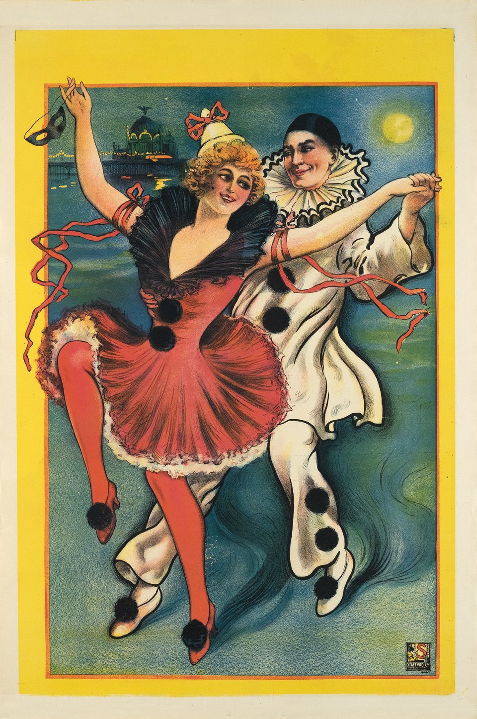 Cabaret – Affiche ancienne – ANONYME – 1910