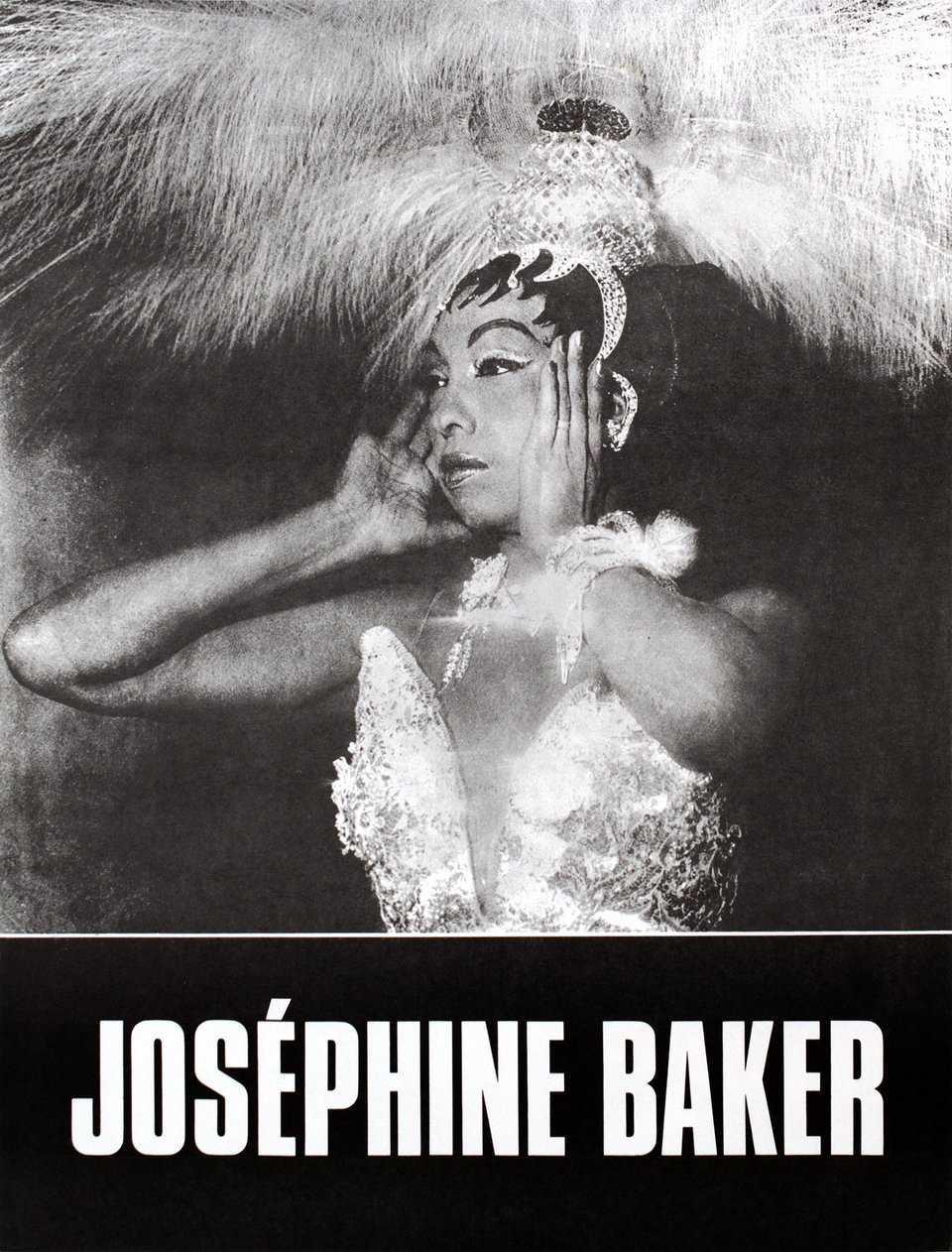 Joséphine Baker – Affiche ancienne – ANONYME – 1950