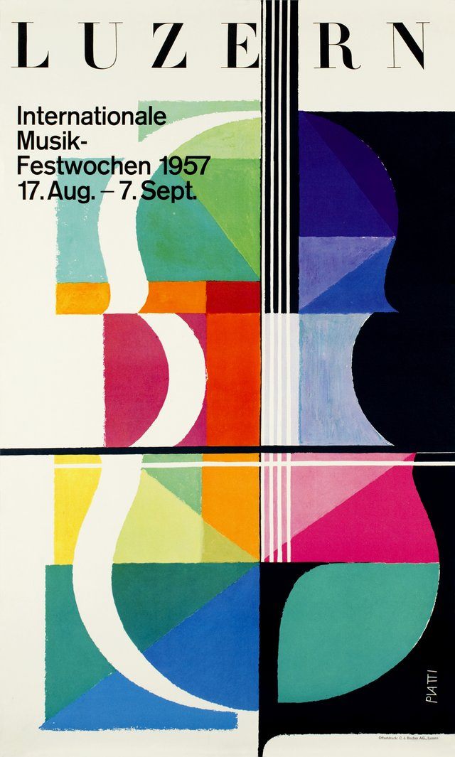 Luzern, Internationale Musik-Festwochen 1957