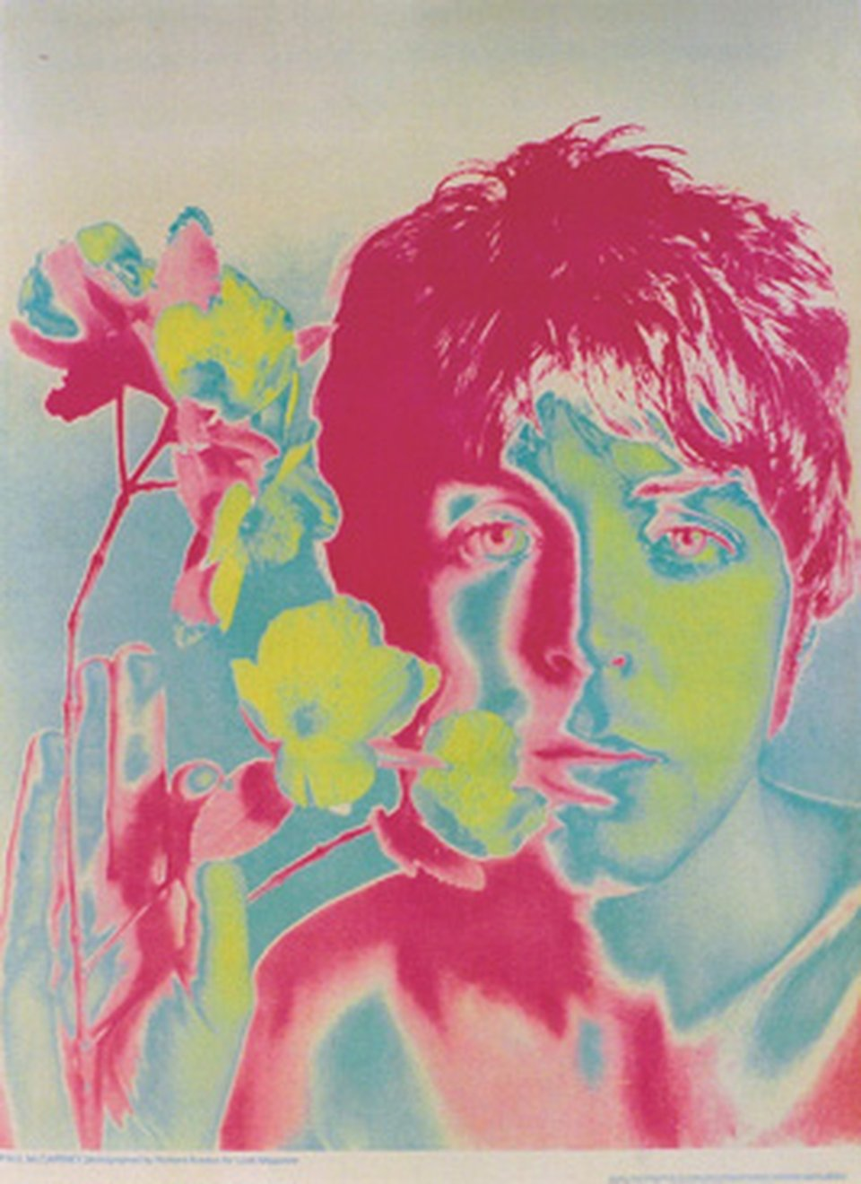 Paul Mc Cartney, Look Magazine – Vintage poster – Richard AVEDON – 1967