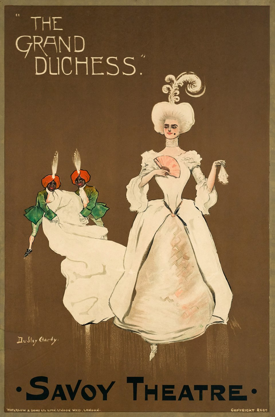 The Grand Duchess, Savoy Theatre – Vintage poster – Dudley HARDY – 1897