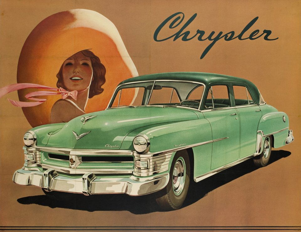 Chrysler – Vintage poster – ANONYME – 1950