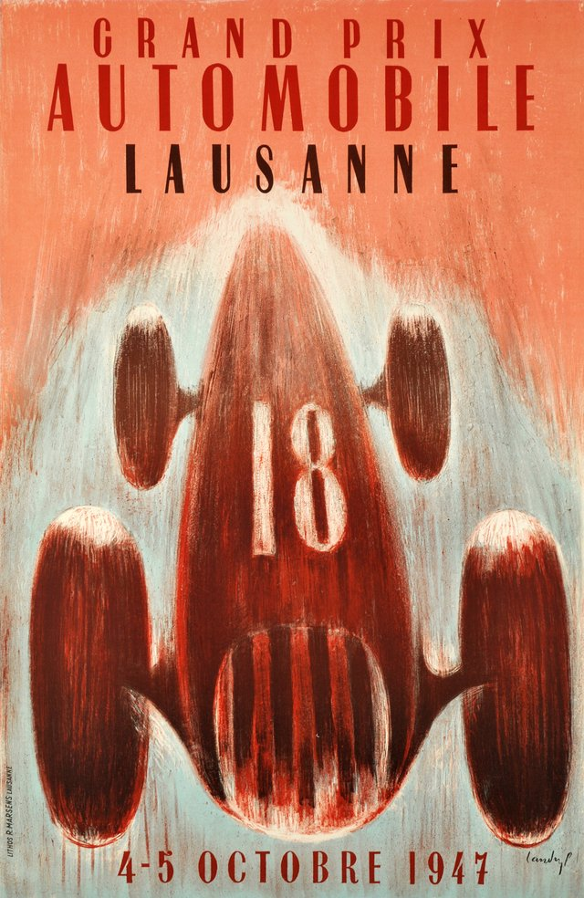 Lausanne, Grand Prix Automobile 1947
