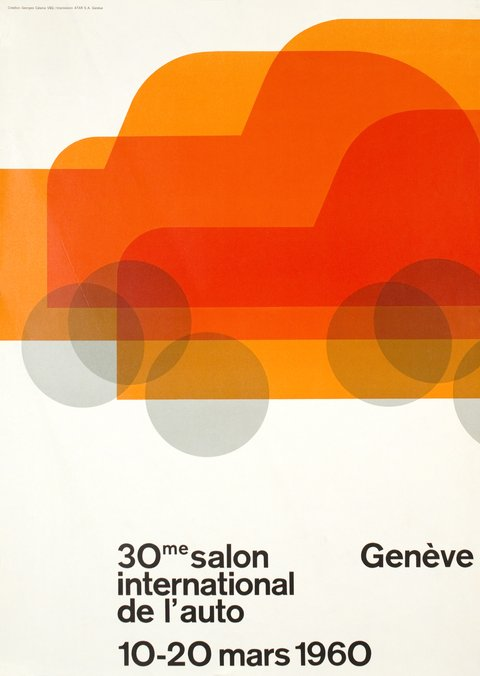 Genève, 30ème Salon International de l'Auto, 1960