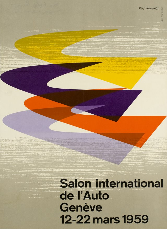 Genève, Salon International de l'Auto 1959