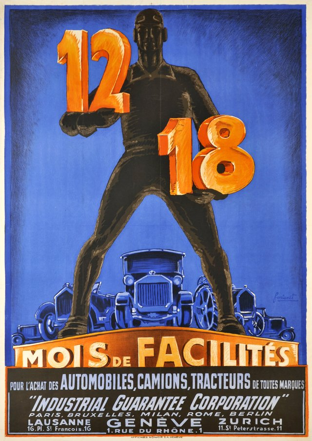 Industrial Guarantee Corporation, 12-18, mois de facilités