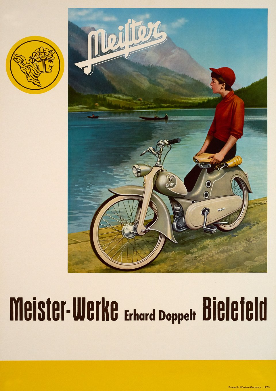 Meister Werke – Vintage poster – ANONYME – 1950