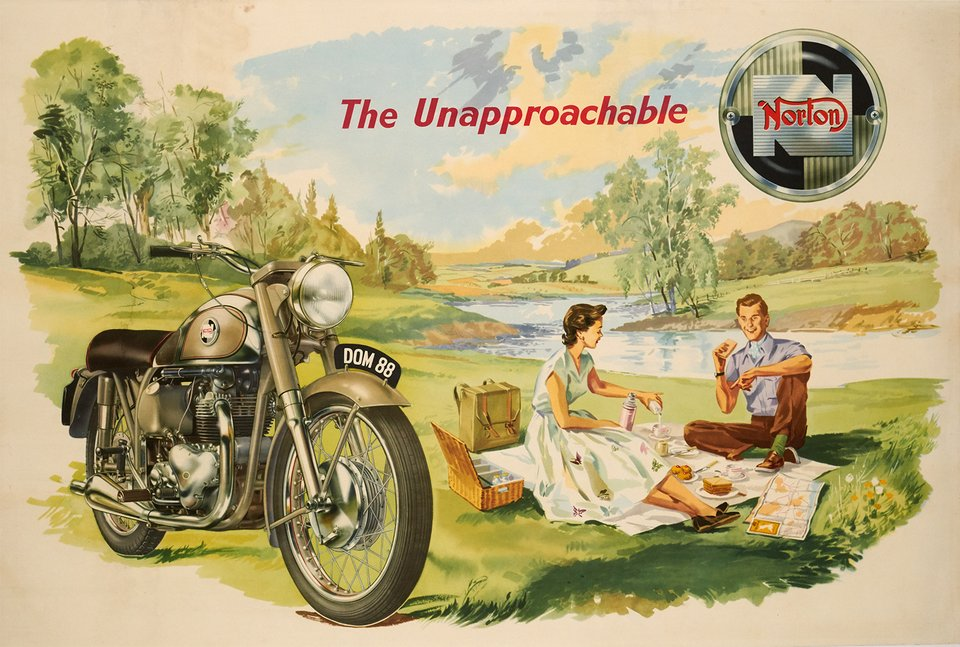 Norton, The Unapprochable – Affiche ancienne – ANONYME – 1950
