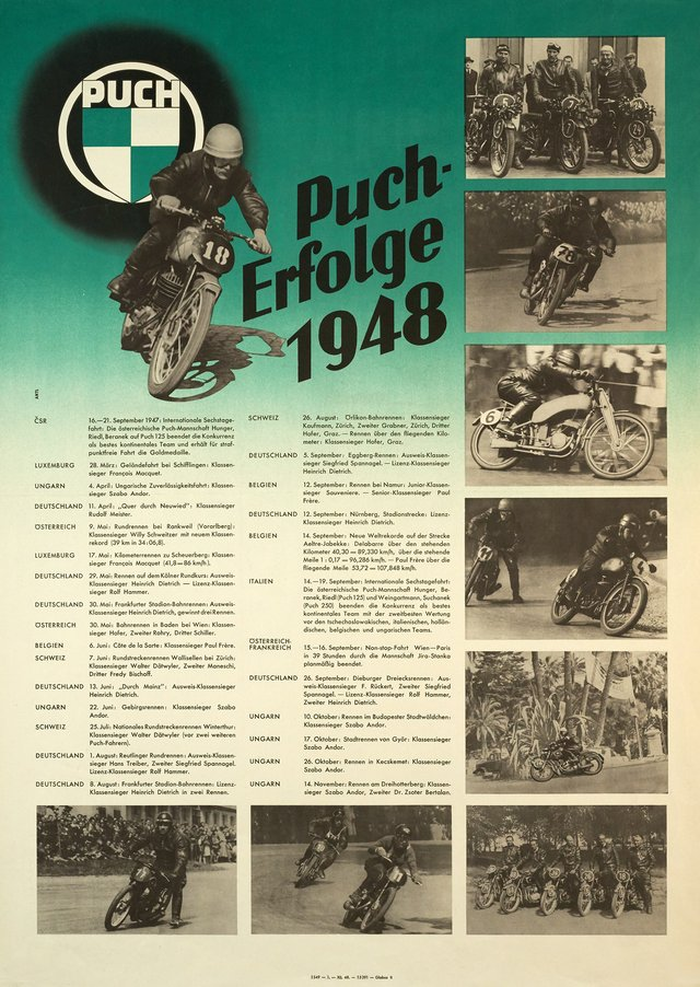 Puch-Erfolge 1948