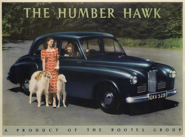 The Humber Hawk, a product of the rootes group