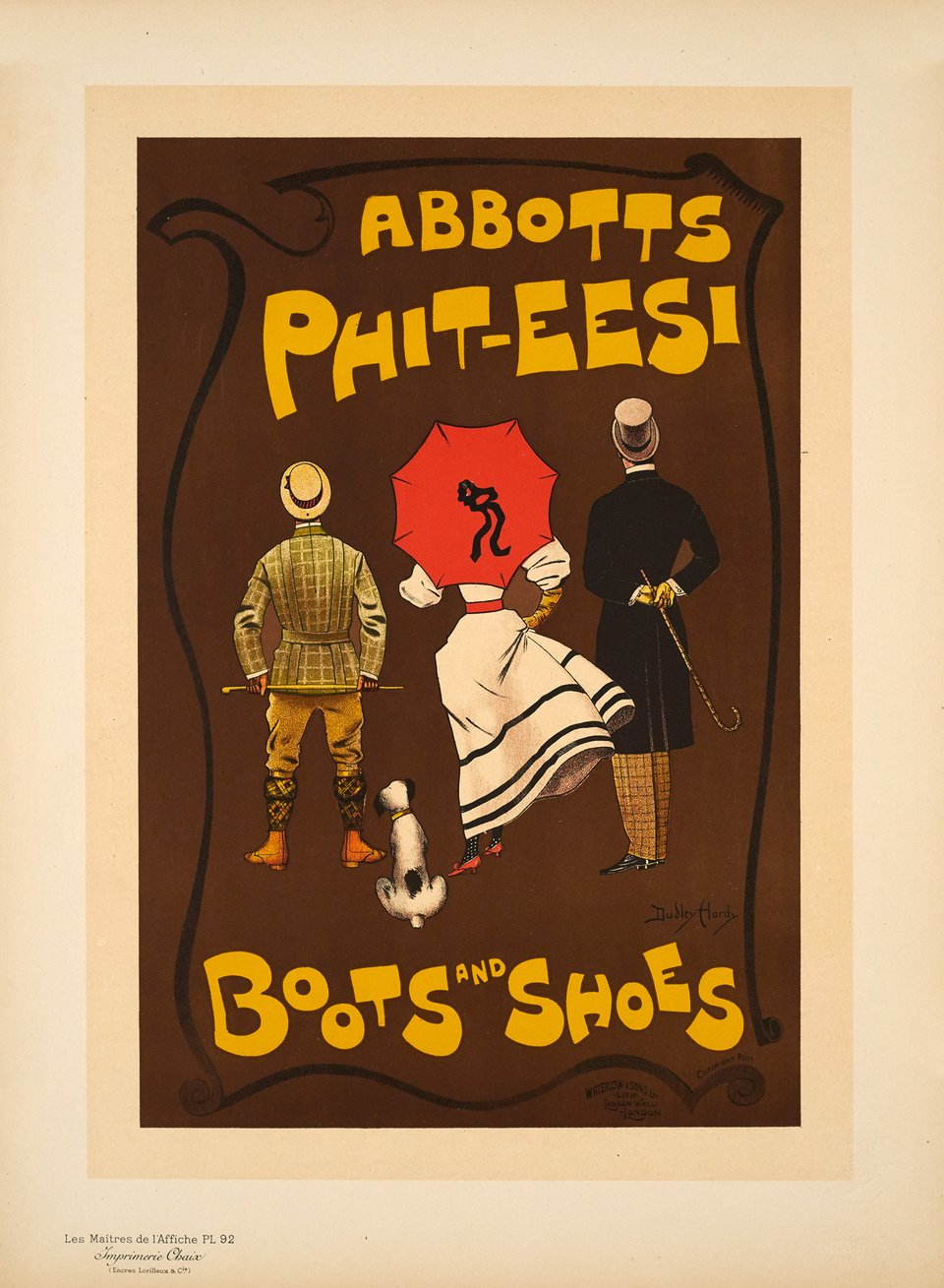 Abbotts Phit-Eesi – Affiche ancienne – Dudley HARDY – 1897
