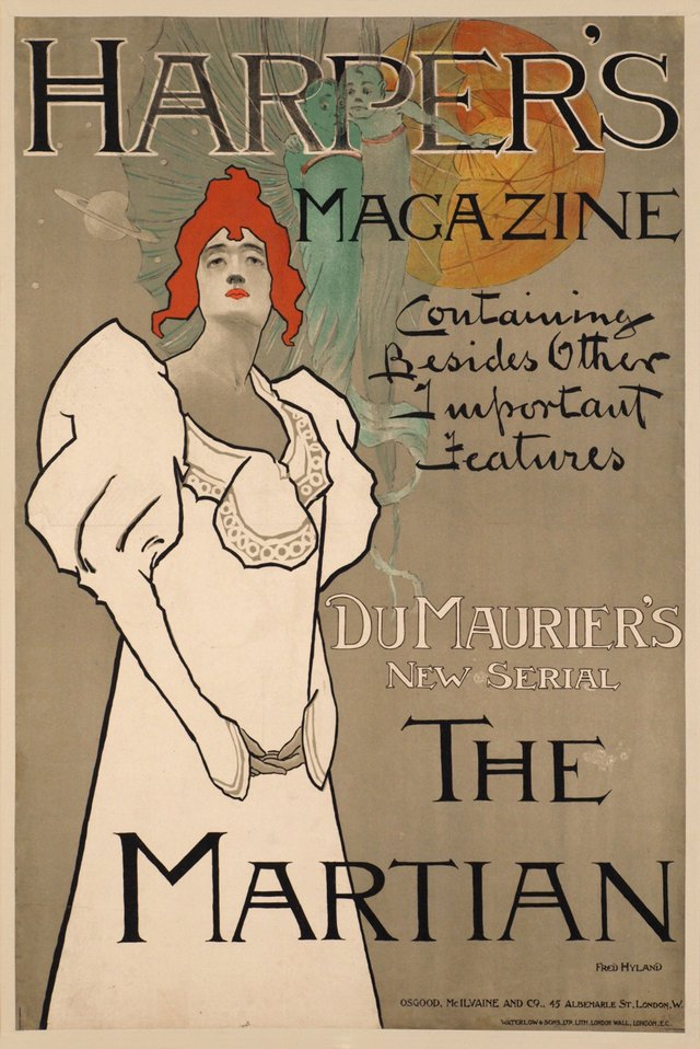 "Harper's Magazine, Du Maurier's "" The Martian"""