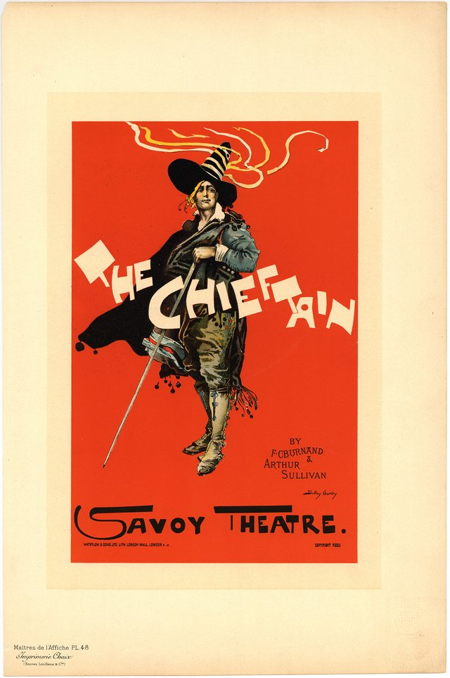 PL. 48 The Chieftain, Savoy Theatre
