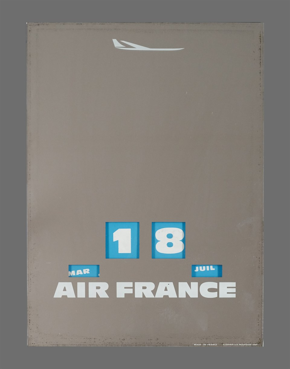 Air France – Affiche ancienne –  ANONYME – 1969