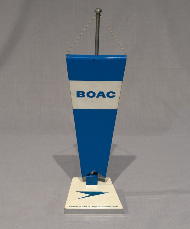 BOAC, British Overseas Airways Corporation fanion
