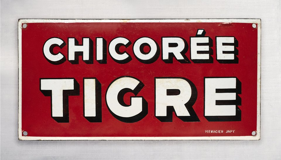 Chicorée Tigre – Vintage poster – ANONYME – 1910