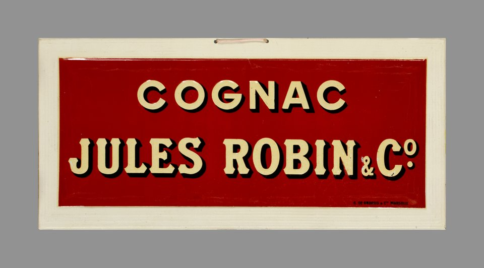 Cognac Jules Robin & Co – Affiche ancienne – ANONYMOUS – 1900