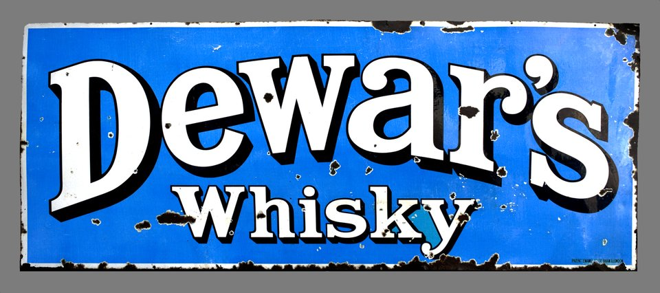 Dewar's Whisky – Affiche ancienne – ANONYMOUS – 1920