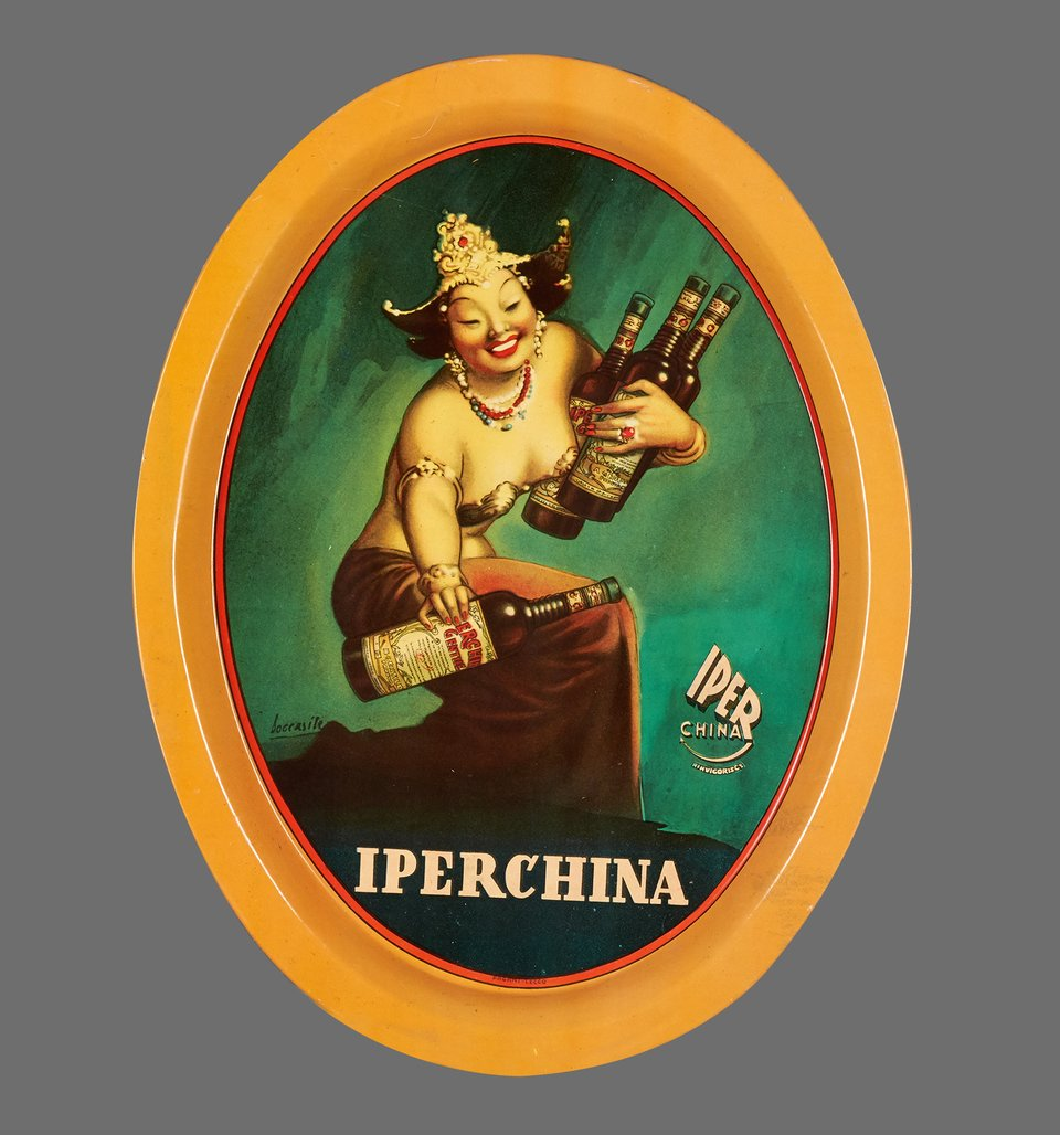 Iperchina – Vintage poster – BOCCASILE – 1940