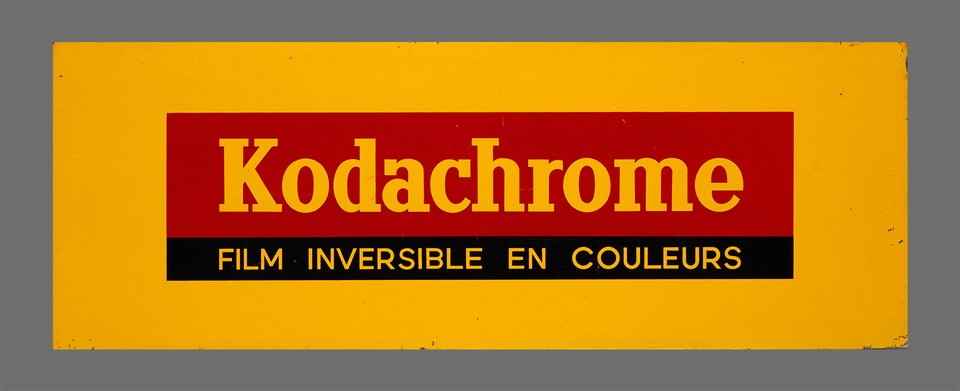 Kodachrome, film inversible en couleurs – Vintage poster –  ANONYME – 1950
