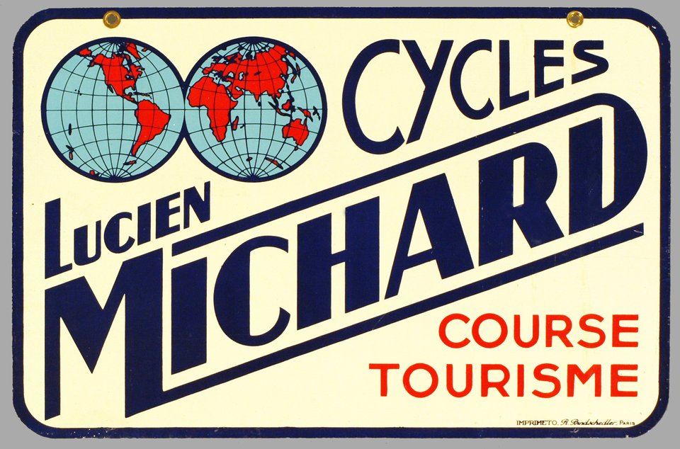 Les cycles Lucien Michard – Vintage poster – ANONYMOUS – 1920